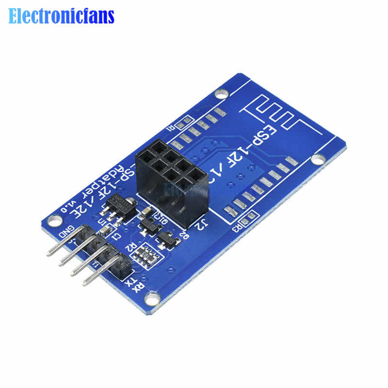 ESP8266 ESP-12F ESP-12E Serial WIFI Wireless Adapter Module Expansion Board 5V For Arduino UNO ESP12F ESP12E
