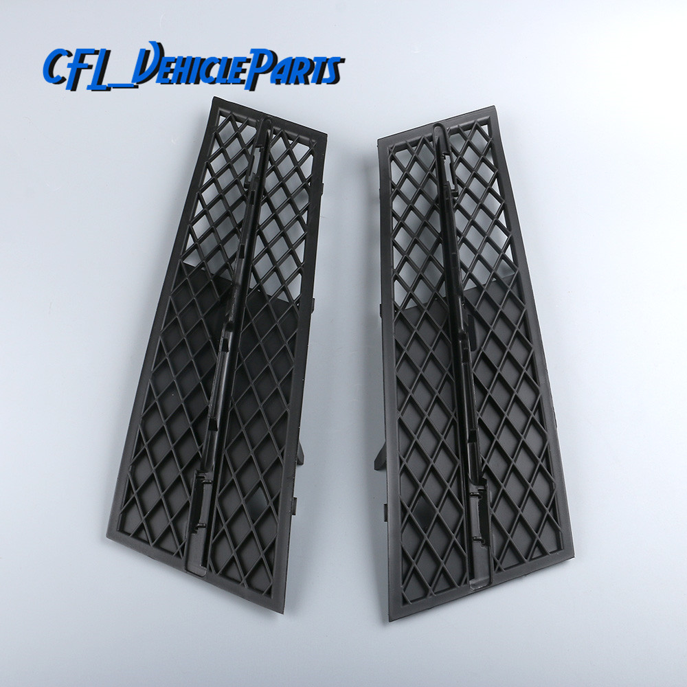 Pair Left+Right Front Lower <font><b>Bumper</b></font> Cover Air Inlet Grille 51117200699 51117200700For <font><b>BMW</b></font> F10 <font><b>F11</b></font> 528i 535i 2009-2013 image