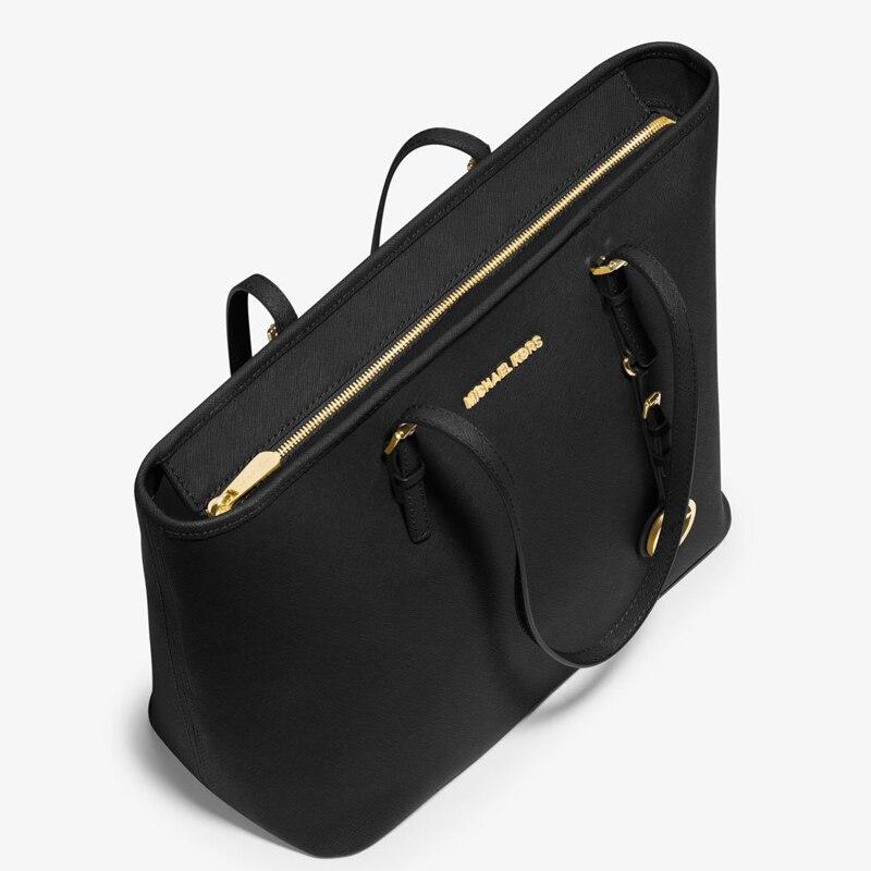 42db5d273c24f6 FSO-Michael kors Online MK Luxury Women hand bag Sexy Women shoulder Bag  Messenger Bags Jet ...