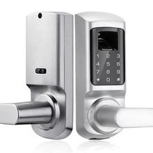 купить Smart digital Electronic & Biometric fingerprint door lock High security For Apartment/home/office дешево