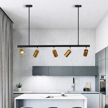 北欧銅真鍮ペンダントライトランプledゴールデン現代ペンダントランプ投影ライト寝室ダイニングバーledペンダントライト
