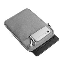 """7 Tela de Algodón Manga de La Tableta de 8 """"Universal Caja de la Bolsa para el ipad Mini 2 3 4 de La Cubierta de Samsung Tab Lenovo Yoga 3 4 8.0 M3 8.4 Caso"""