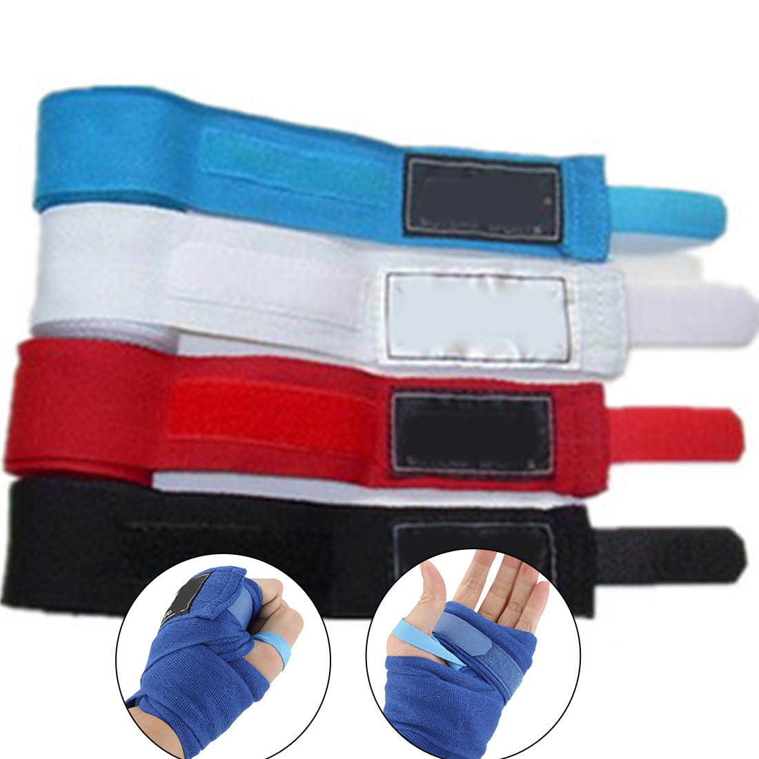 2PCS Thai Taekwondo Hand Sports Strap Men Gifts Gloves Wraps Boxing Bandage