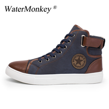 Spring Autumn Shoes Men Skateboarding High Top Pipe Retro Comfortable Mens Sports Sneakers