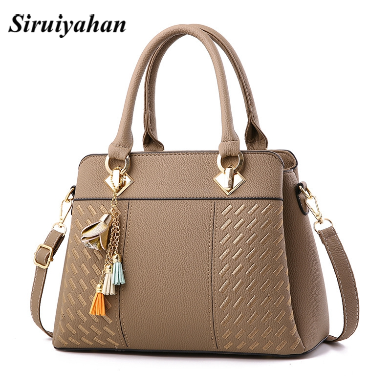 Siruiyahan Luxury Handbags Women Bags Designer Tasse Female Bag Women Leather Handbags Women's Shoulder bag Bolsas Feminina siruiyahan luxury handbags women bags designer genuine leather bag female shoulder bags women handbag bolsa feminina