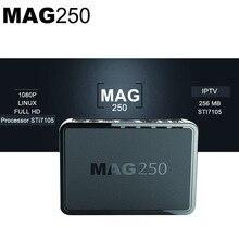 MAG 250 Iptv Set Top tv Box IPTV Caja Linux OS MAG250 IPTV Wifi Caja de la Tv sin SUSCRIPCIÓN IPTV