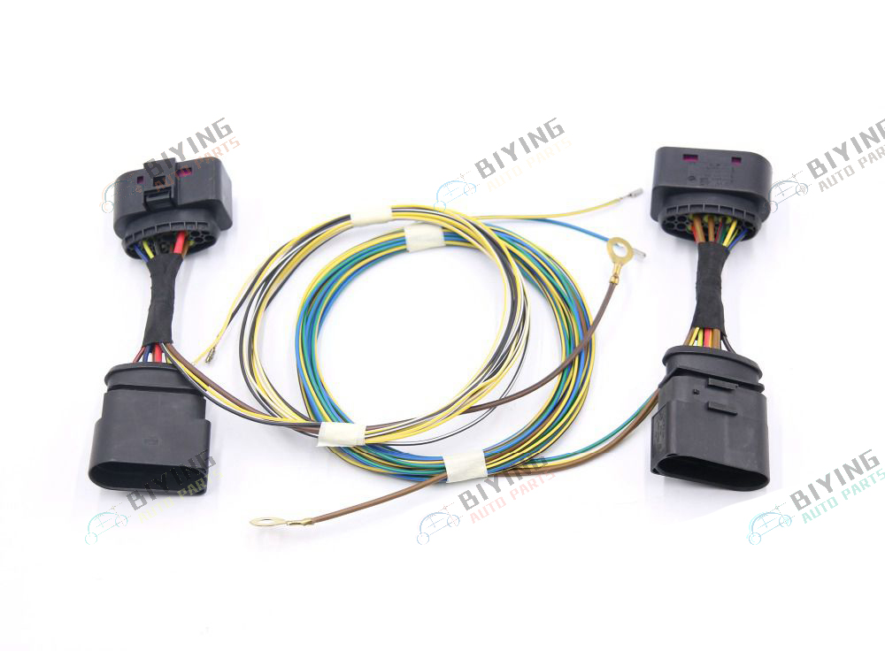 FOR VW Golf 7 MK7 HID Xenon Headlight 10 to 14 Pin Connector Adapter harness Wire Cable