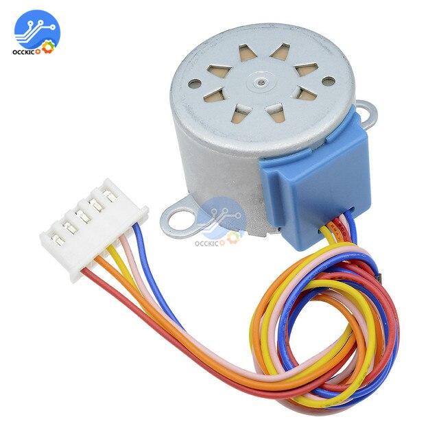 1 шт. умная электроника 28BYJ-48 12 В 4 фазы 5 провод DC редуктор шагового двигателя плата для arduino DIY Kit