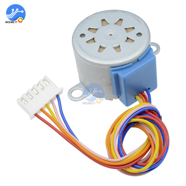 1PCS Smart Electronics 28BYJ-48 12V 4 Phase 5 wire DC Gear Reduction Stepper Motor Board for arduino DIY Kit