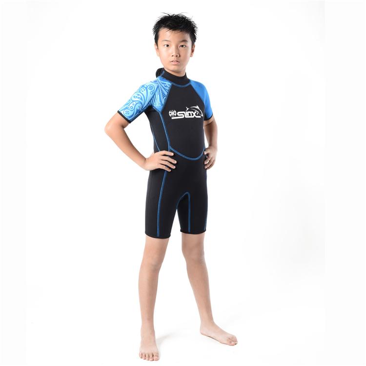 2mm Kinder Shorty Neoprenanzug Tauchen Schnorcheln Surfen