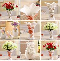 Creative bridal gift practical gift bosom friend TV ark set a vase adornment to decorate porcelain