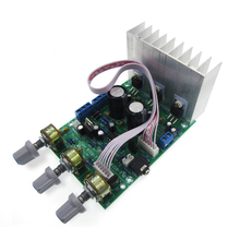 TDA2030A 2 1 3 audio encoding finished products subwoofer amplifier board tda2030 bass knob