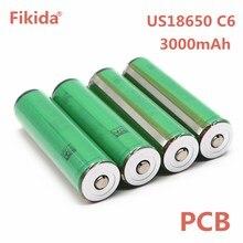 100% Original VTC6 3.7 v 3000 mah recarregável Li-ion bateria de 18650 para Sony US18650 VTC6 30A PCB bateria Lanterna