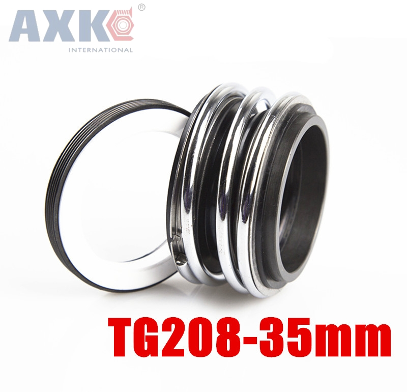 AXK TG208-35 35MM Inner Diameter Mechanical shaft seal Three Coil Spring For Water Pumps цена