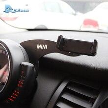 Airspeed мини Кронштейн Автомобильный держатель для мобильного телефона Авто Руль задний телефон крепление для MINI Cooper R55 R56 хэтчбек аксессуары