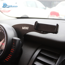 Скорость полета мини Кронштейн Автомобильный держатель мобильного телефона Авто Руль сзади телефон крепление для MINI Cooper R55 R56 аксессуары для хэтчбеков
