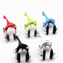 Sale Q889 Free Shipping Bicycle accessories dead fly front and rear brakes aluminum brake clamp C brake road car clip1 pair