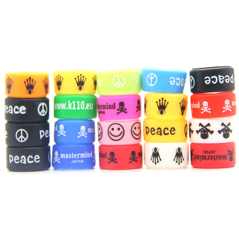 Silicone Rubber Ring Decorative Band For Mechanical Mod 18*12*2mm Electronic Cigarette Vaporizer Atomizer Silicone Ring