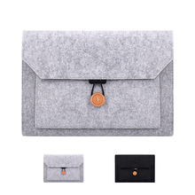 Buy Business Laptop Briefcase Sleeve Bag for Macbook Air Pro 11.6 13.3 12.5 15.4 Xiaomi Laptop Case Black Gray directly from merchant!