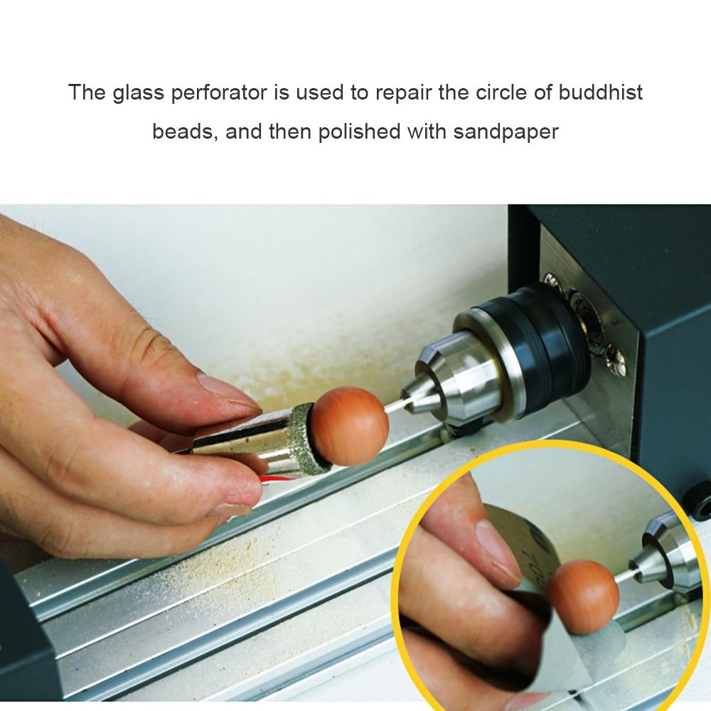 Mini Lathe sander Beads Polisher Machine Woodworking Craft DIY Rotary Tool electric Multifunction polishing machine grinder