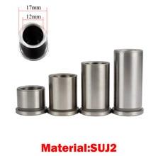 Пластиковая металлическая форма HRC58, высокоточная втулка 12 мм, внутренний диаметр 17 мм, внешний диаметр 20/25/30/35/40 мм