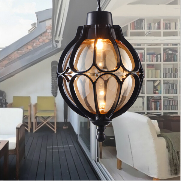 Vintage Waterproof Outdoor Luxury Decorate Courtyard Garden Balcony Europe Type Ceiling Lamp Pendant Drop light Cafe Bar Loft стульчик для кормления baby first yami