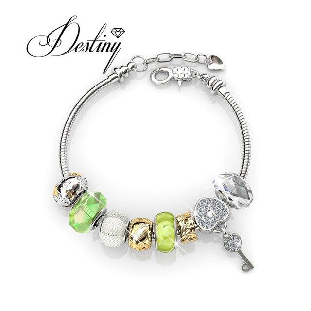 Destiny Jewellery Embellished With Crystals From Swarovski Bracelet Princess Charm Db0094