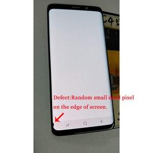 Super AMOLED для Samsung Galaxy S9 G960 G960F S9 Plus G965 G965F, ЖК-дисплей + дигитайзер сенсорного экрана с маленьким краем
