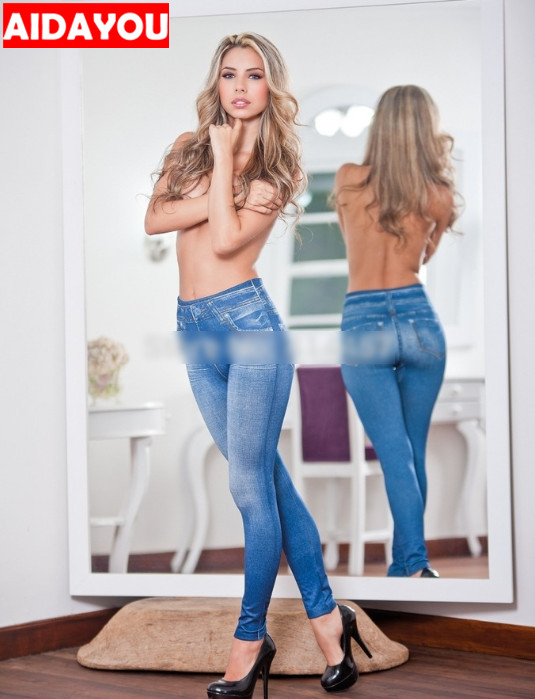 Super Stretchy Leggings pocket Pants Pocket Seamless Legging Plus Size 5XL Womens   Jeans   Push Up Butt Lifting trousers ouc377