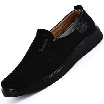 QIYHONG חדש מותג גברים נעליים יומיומיות 2018 אביב לנשימה רך תחתון סופר אור מזדמן גברים נעלי אופנה עוצב Mens נעליים