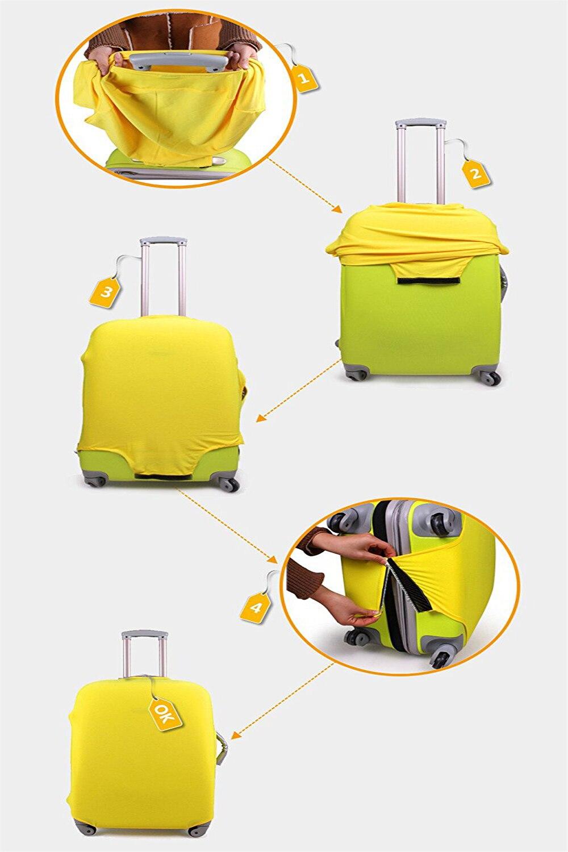 viagem elástico capa de bagagem aplicar a 18-32 polegada