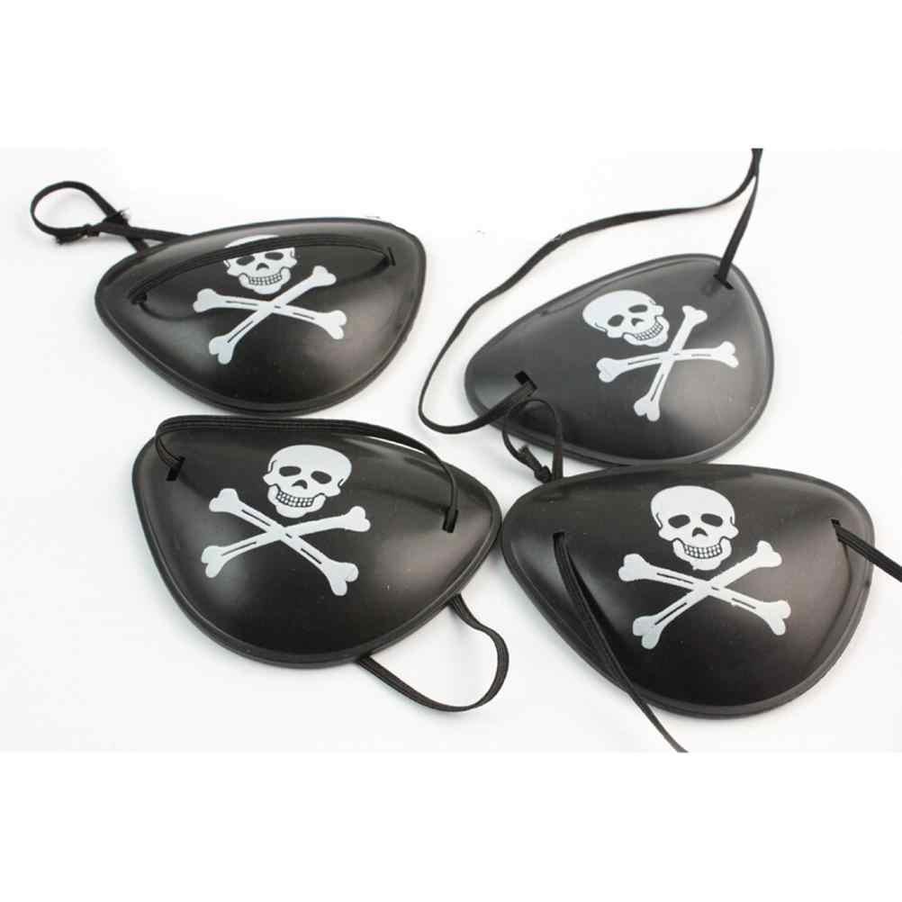 Pirata olho remendo crânio crossbone festa de halloween favor traje crianças brinquedo