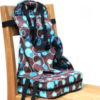 Portable Baby Dinner Chair Bag, Nylon PVC Water Proof Material folded baby feed chair bag, factory outlet kids highchair bag