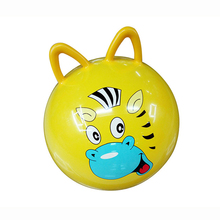 45CM Bouncing Ball toys Inflatable Cartoon Animal Jumping Bounce stress Yoga Health Care toy PVC Cat ears shape Balance Balls