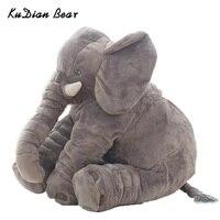 KUDIAN Mody NIEDŹWIEDŹ 60 cm Wypchanych Zwierząt Słoń Lalki Pluszowe Dla Dzieci dzieci Zabawki Dla Dzieci Pokoju Łóżko dla 0-12 Miesięcy BYC142 PT49
