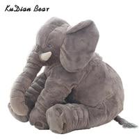 Kudian الدب الأزياء 60 سنتيمتر طفل محشوة الحيوان الفيل دمية أفخم أطفال لعبة للأطفال غرفة نوم لل 0-12 أشهر BYC142 PT49