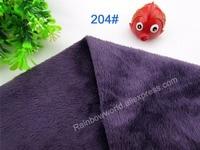 204 # diepe paars super zachte fluwelen stof microfiber fleece velboa haar hoogte 2-3mm voor diy speelgoed deken kussen (1 meter)