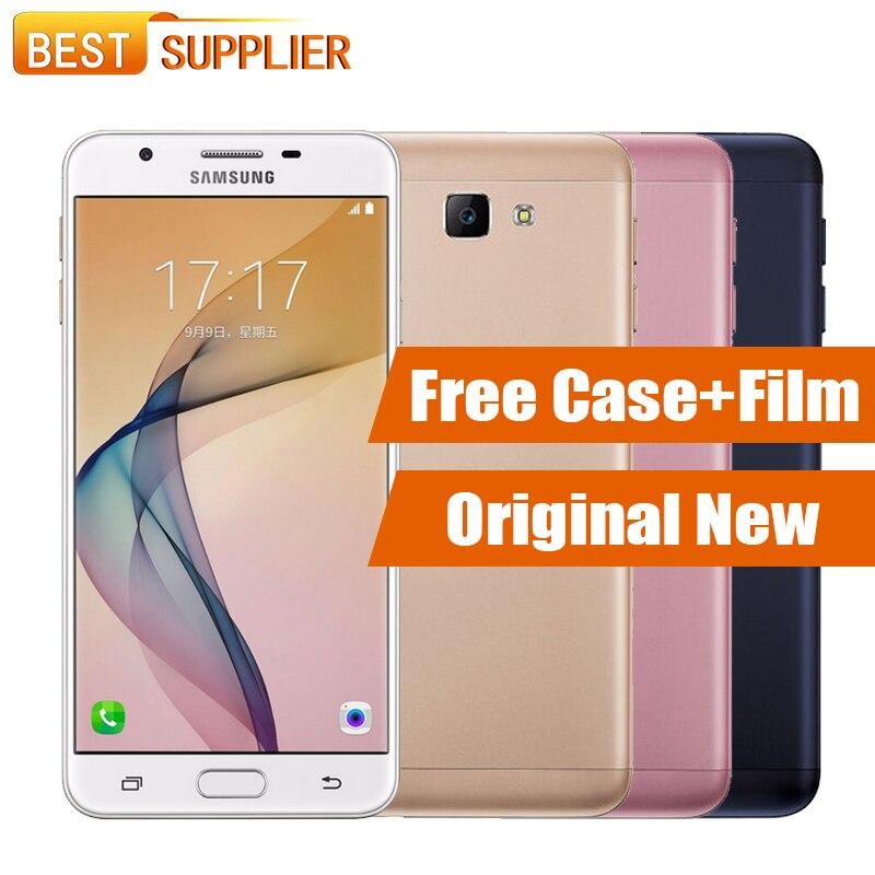 """Цена за 100% оригинал samsung galaxy on7 g6100 dual sim 5.5 """"мобильный Телефон 3 ГБ RAM 32 ГБ ROM 13.0MP 4 Г LTE окта ядерный Отпечатков Пальцев 3300 мАч"""