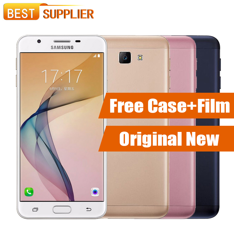 "bilder für 100% Original Samsung Galaxy On7 G6100 Dual SIM 5,5 ""Handy 3 GB RAM 32 GB ROM 13.0MP 4G LTE octa-core Fingerprint 3300 mAh"