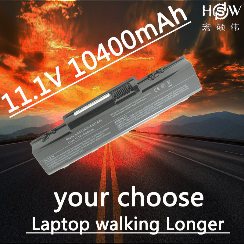 HSW batterie d'ordinateur portable pour Acer Aspire 4710 4720 5335Z 5338 batterie 5536 5542 5542G 5734Z 5735 5735Z 5740G 7715Z 5737Z batterie