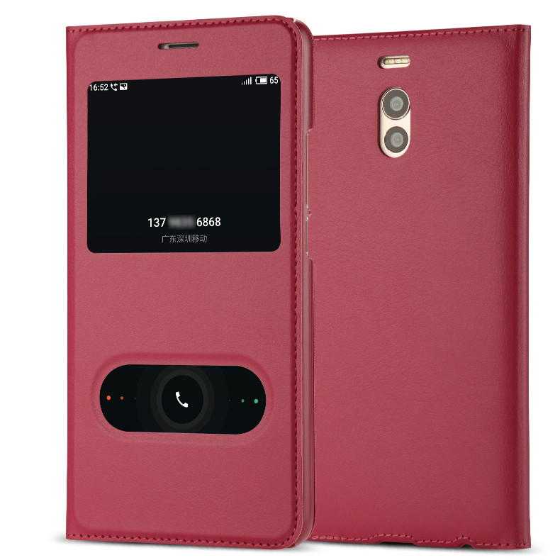 New Arrive! For Meizu M6 Note Case Luxury Slim Style Flip Leather Case For Meizu M6 Note Cover Bag