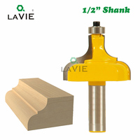 1pc 12mm 1/2 Inch Shank Photo Frame Molding Edging Router Bit Classical Ogee Woodworking Milling Cutter for Wood Tool MC03093