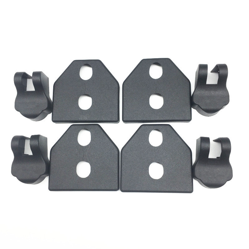 8pcs Auto Door Checks Cover And Door Lock Protecting Cover,Water Proof Protector For Subaru Xv, Forester, Outback