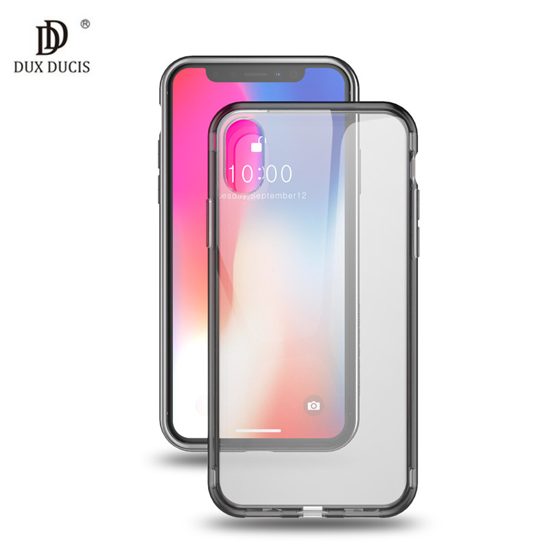 Galleria fotografica For Apple iPhone Xs Max Bumper Case Ultra Thin Transparent Nature TPU Soft Case For iPhone Xr X XS High Quality Phone Back Cover