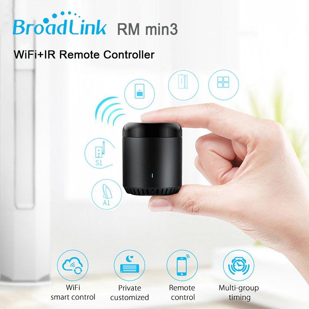 Broadlink RM Pro 2018 Uus versioon RM33 RM Mini3 IR + RF + WiFi - Nutikas elektroonika - Foto 4