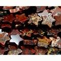 """Atacado Natural Red Jasper BRECCIATED Plana em Forma de Estrela Solta Contas Pequenas 4-10mm Jóias Fit DIY Colar ou pulseira 15 """"03081"""