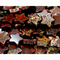 "Wholesale Natural Red BRECCIATED Jasper Flat Star Shape Loose Small Beads 4-10mm Fit Jewelry DIY Necklace or Bracelet 15"" 03081"