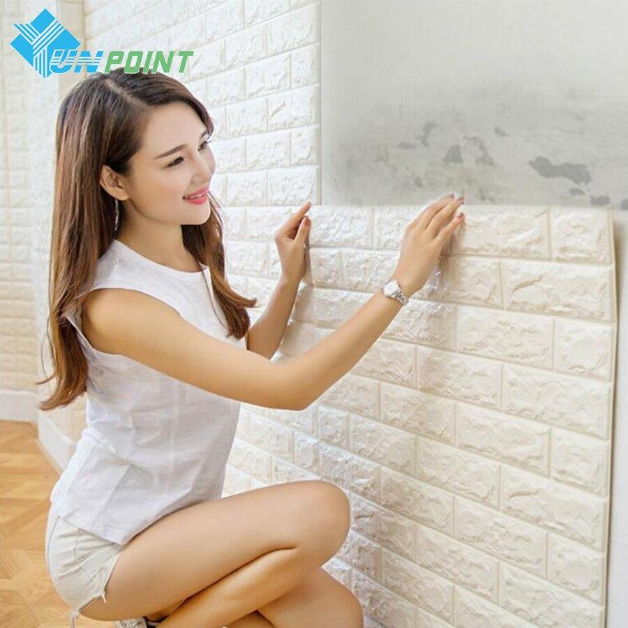 Online get cheap brick wall paper for Cheap brick wallpaper