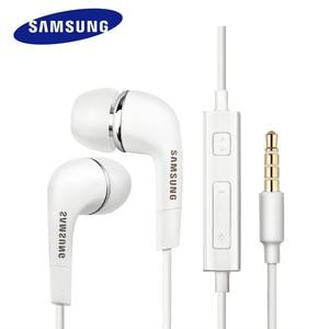 Проводные наушники SAMSUNG EHS64, гарнитура с микрофоном для Samsung Galaxy S8 S8 S9 + и т. Д., официальная натуральная гарнитура для телефонов Android