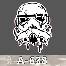 A 638 Star Wars Waterproof Cool DIY Stickers For Laptop Luggage Fridge Skateboard Car Graffiti Cartoon